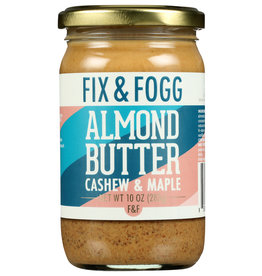 Fix and Fogg Butter Almond Cashew and Maple