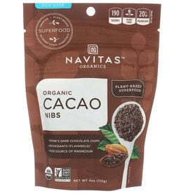 NAVITAS CACAO NIBS ORG 4 OZ