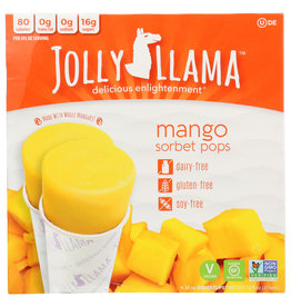 JOLLY LLAMA JOLLY LLAMA SORBET 4SQZUP MANGO 12 FO