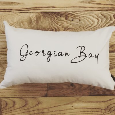 Georgian Bay Lumbar Pillow