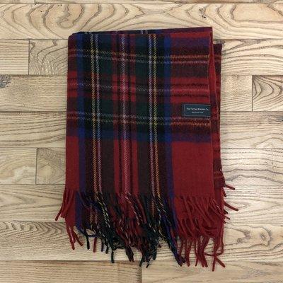 Recycled Wool Blanket - Stewart Royal Tartan