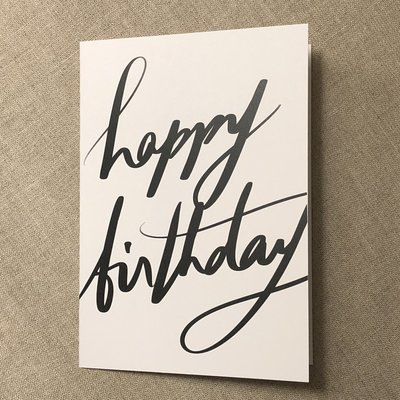 Designer Card - Happy Birthday
