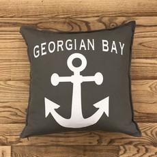 Georgian Bay Anchor Pillow