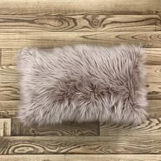 Faux Fur Pillow - Assorted Colours