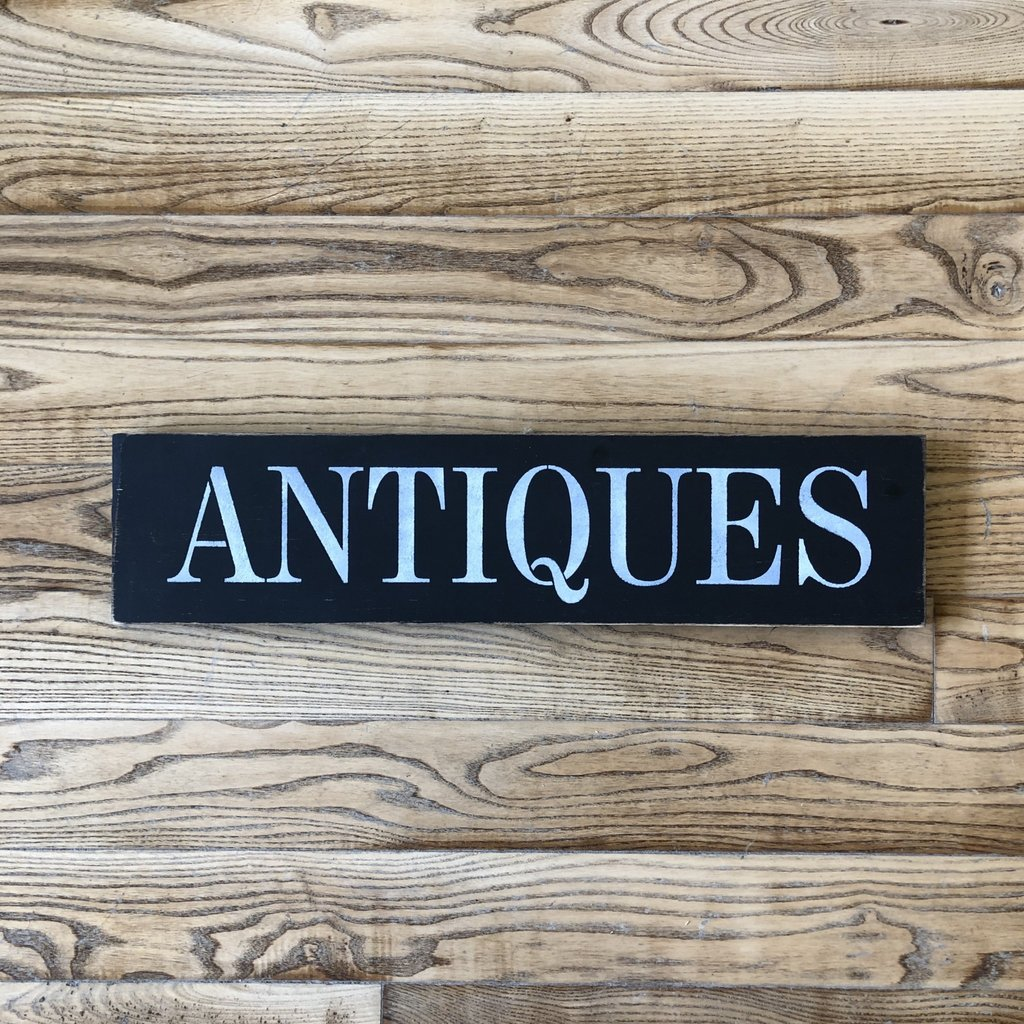 Haven Home & Gift Wood Antiques Sign - Assorted Colours