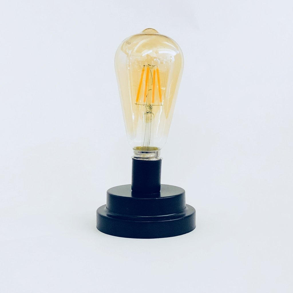 Decorative Light with Metal Base
