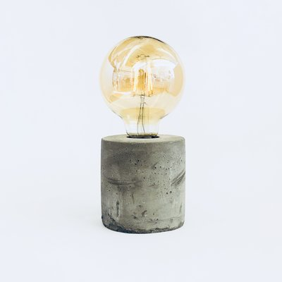 Decorative Light with Cement Base