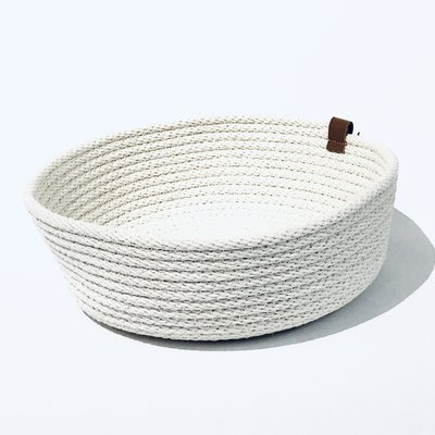 Woven Shallow Basket
