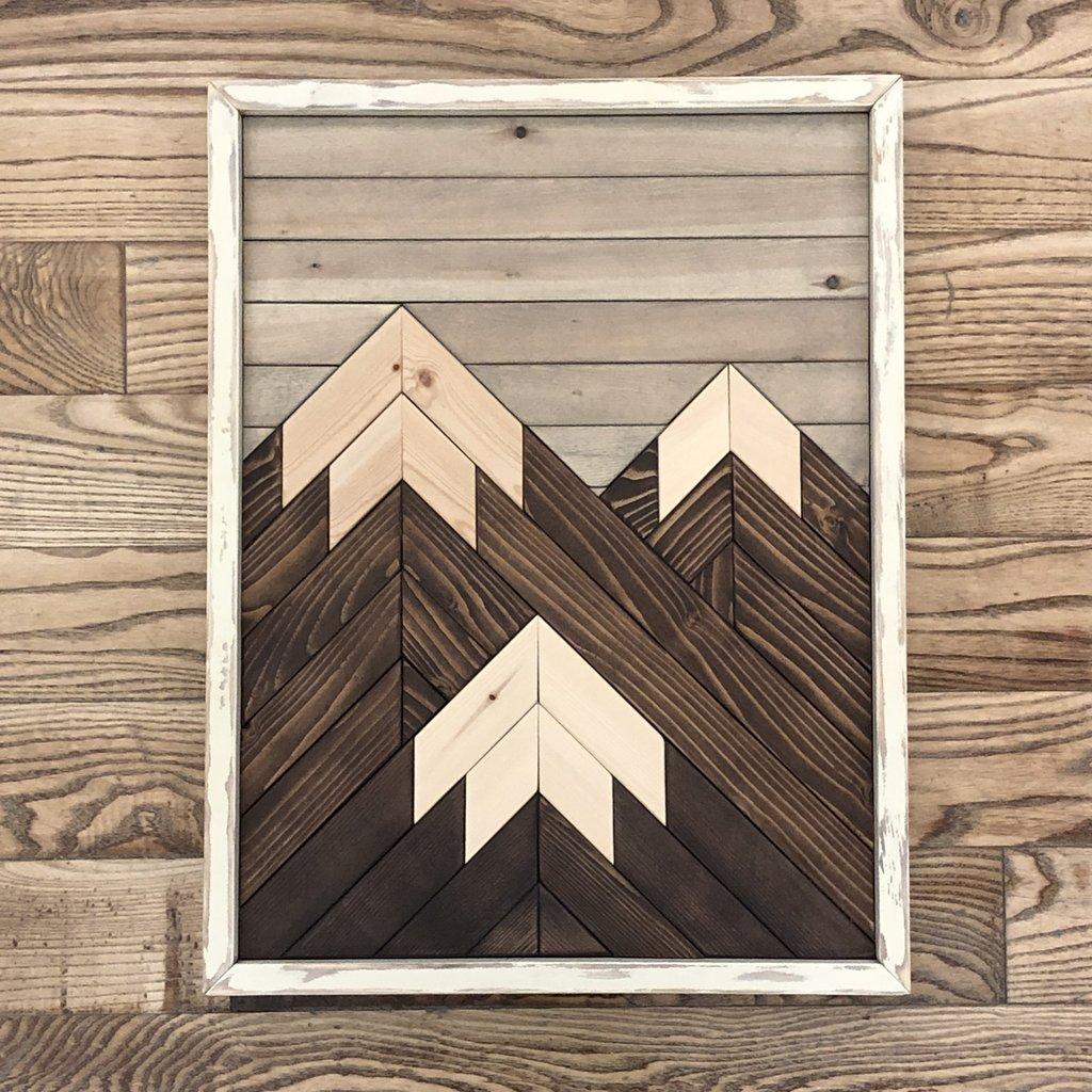 Three Peak Mountain - Ivory
