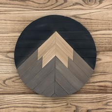 One Peak Mountain Round - Charcoal