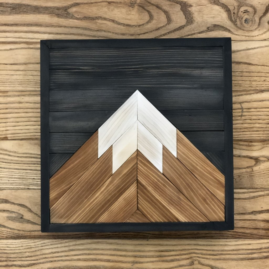 One Peak Mountain - Charcoal