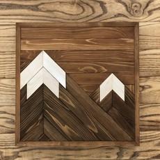 Two Peak Mountain - Brown
