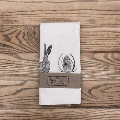 Upright Hare Table Runner