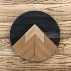 One Peak Mountain Round - Brown