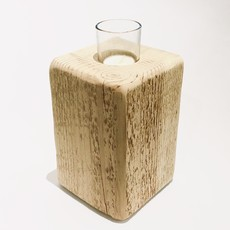 Natural Timber Votive Holders