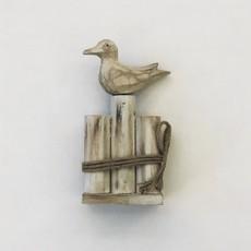 Panam Seagull on Fence