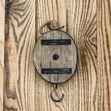 Panam Rustic Pulley Hook