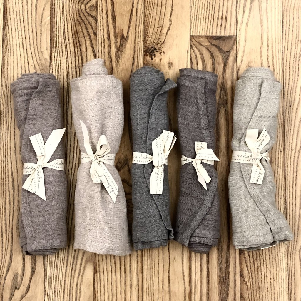 Rustic Linen Runners - Assorted Colours