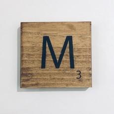 Scrabble Tiles I - P