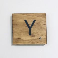 Scrabble Tiles Q - Z