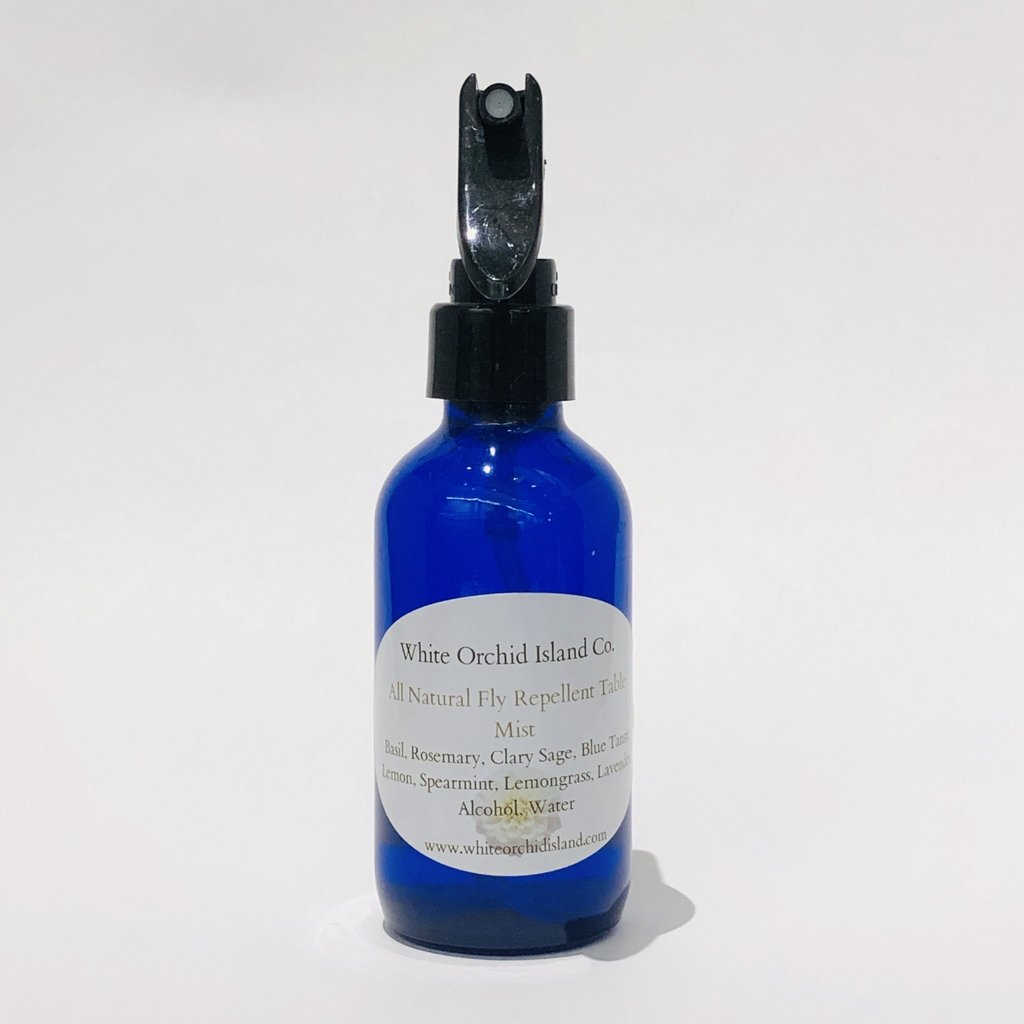 All Natural Fly Repellent Mist