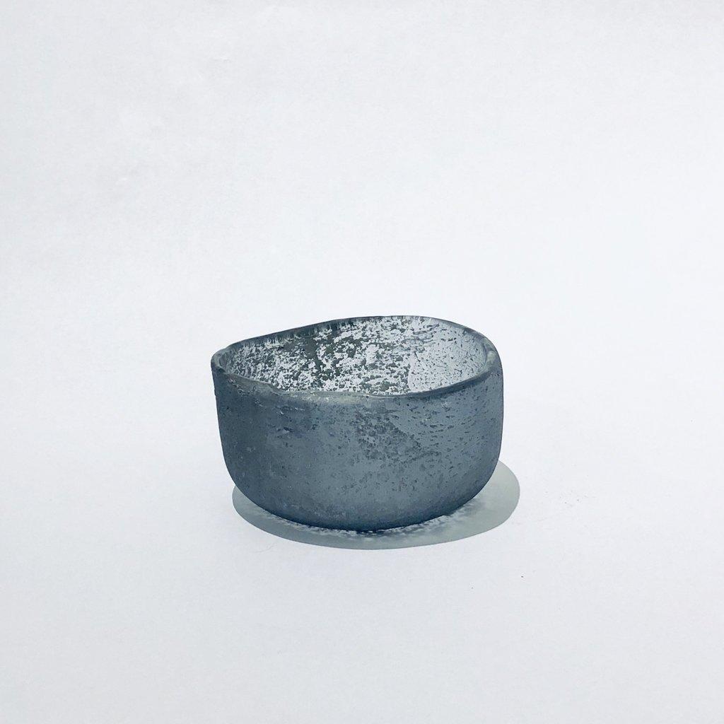 Roca Tealight Holders, Mercury - Assorted Sizes