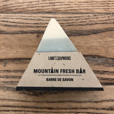 Lamb's Soapworks Mountain Soap Bar