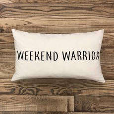 Weekend Warrior Pillow