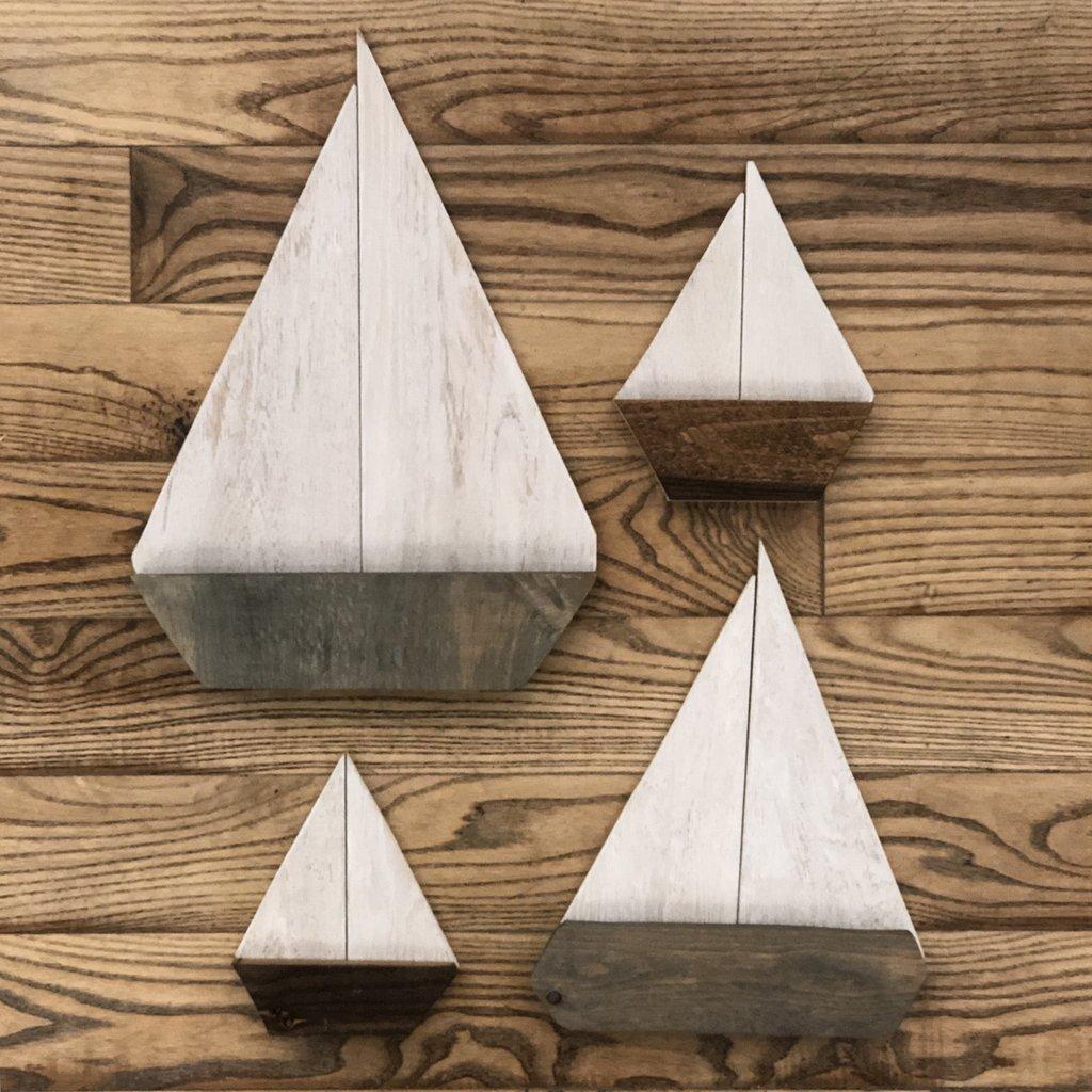 Wooden Sailboats
