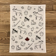 Assorted Canadiana Tea Towels