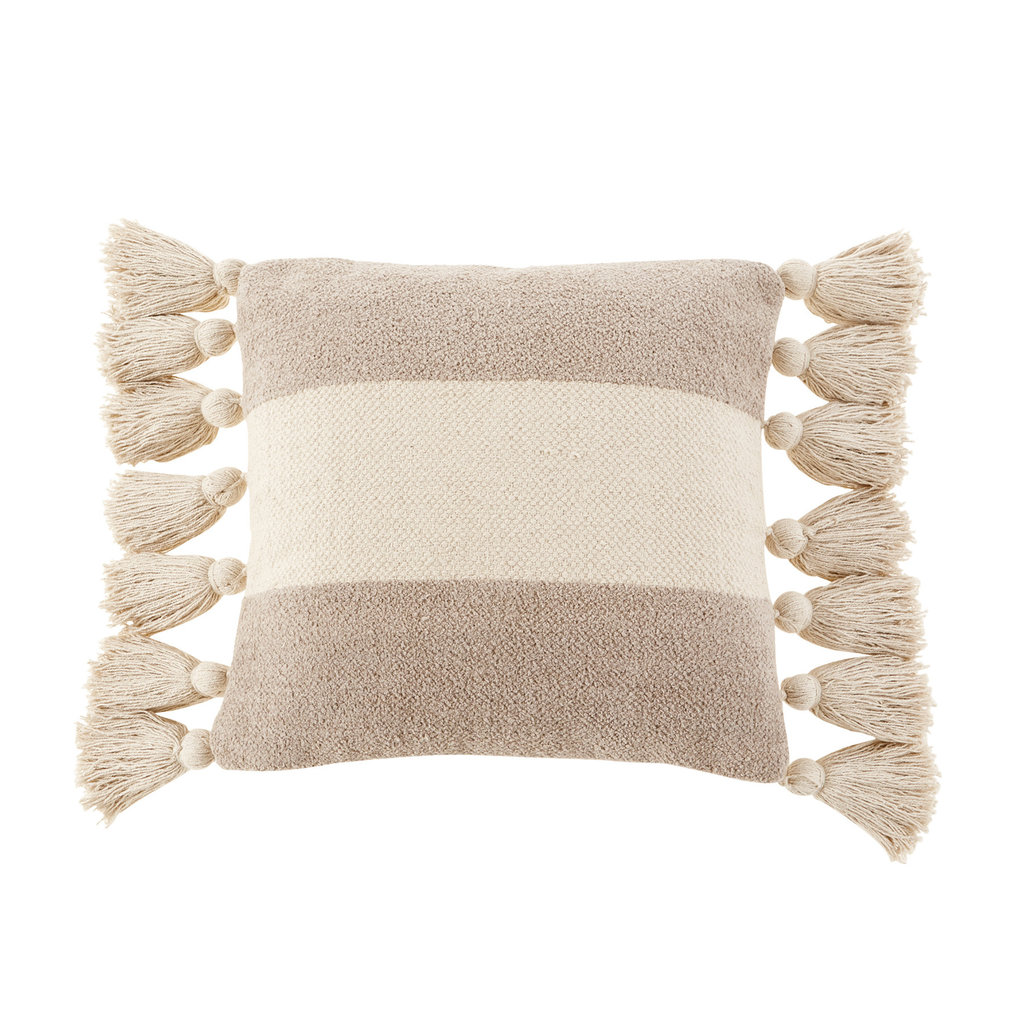 Striped Tassel Pillows
