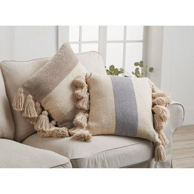 Striped Tassel Pillows
