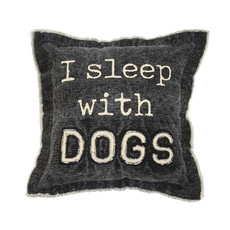 Dogs Canvas Pillow