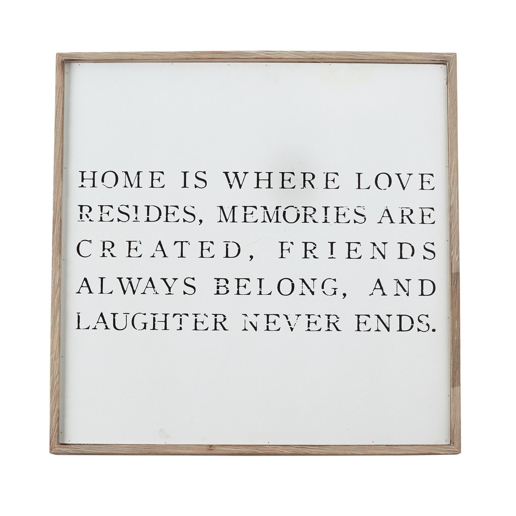 Home is Where Love Resides Art