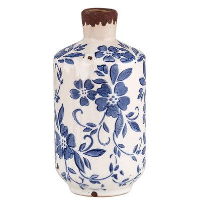 Vintage Blue Bottle Vase