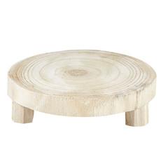 Natural Wood Riser