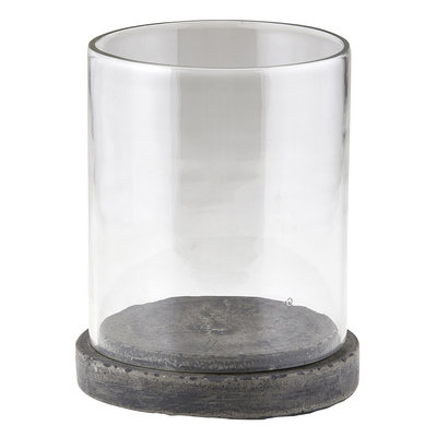 Concrete Hurricane Candle Holder