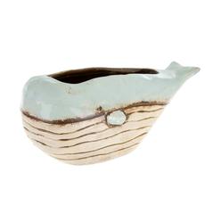 Ceramic Whale Planter