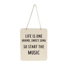 Grand Sweet Song Tin Sign