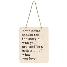 Your Home Tin Sign