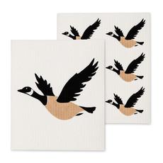 S/2 Canada Goose Dishcloths