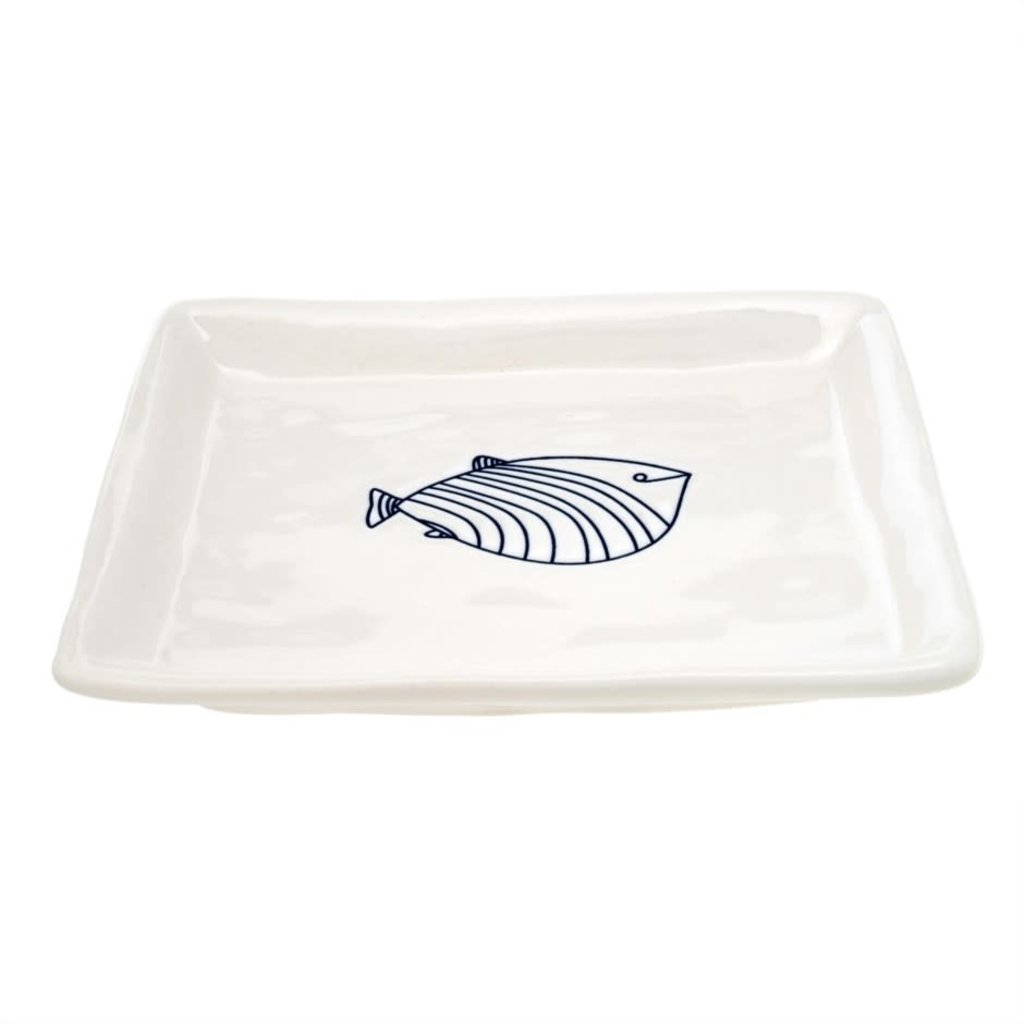 Lined Fish Dishes