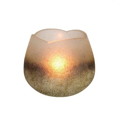 Cream Metallic Tulip Tealight Holders