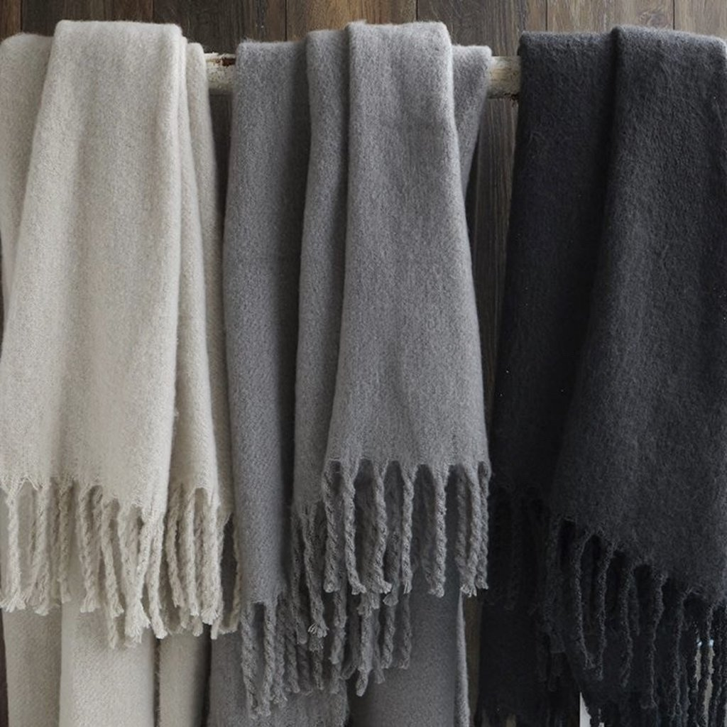 Plush Nordic Throws