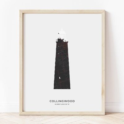 Collingwood Lighthouse Print