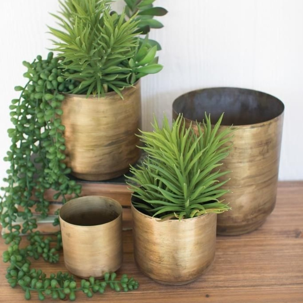 Metal Flower Pots