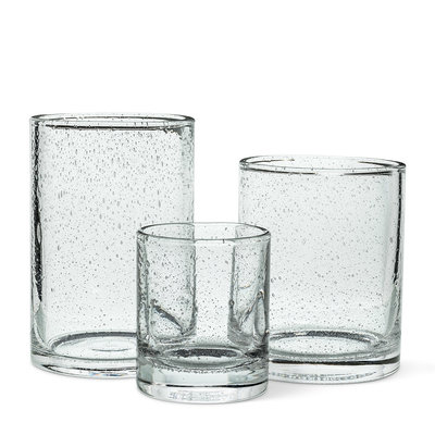 Seed Glass Candle Holders