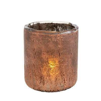 Copper Ombre Saturna Candle Holder