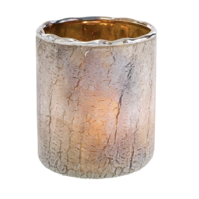 Smoke Ombre Saturna Candle Holder