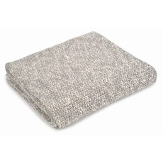 Light Grey Cotton Throw